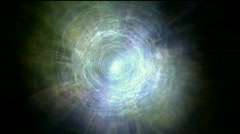 Heaven paradise ray tunnel,universe soul channel,god religion,fly in cloud. Stock Footage