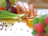 Vegetables, pan shot Stock Footage