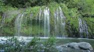 Mossbrae Falls and Sacramento River Stock Footage