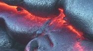 Hawaiian Lava Flow HD 5 Stock Footage