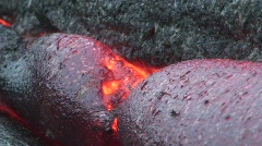 Hawaiian Lava Flow HD 1 - stock footage