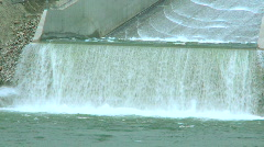 Hydro Power Dam and substation OM zo  Stock Footage