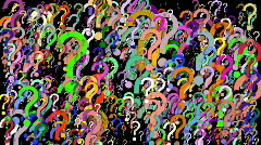 Thousands of Questions Stock Footage