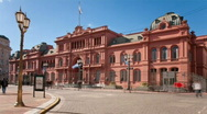 Stock Video Footage of Casa Rosada