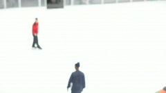 Iceskating HD Stock Footage