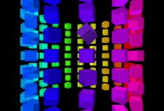 Disco Pop Round NTSC - stock footage