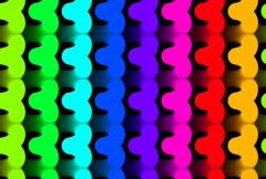 Undulating Squiggler Loop NTSC - stock footage