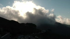 Volcano look-alike mountain Stock Footage