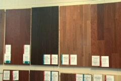 Hardwood Floor Store Display Stock Footage