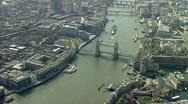 London Tower Bidge Stock Footage