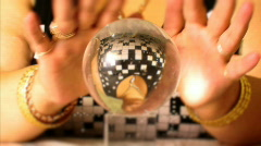 Crystal ball Full HD Stock Footage
