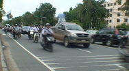 Stock Video Footage of CAMBODIA-TRAFFIC