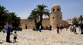 Medina (old town) in Sousse, Tunisia Footage