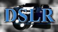 T200 DLSR graphic basic vdslr hdslr Stock Footage