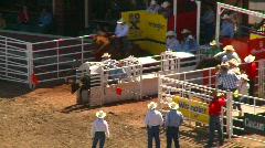 rodeo, steer wrestling, #5 - stock footage
