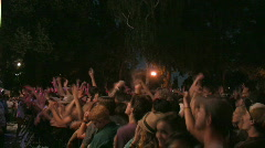 Rock Concert Dance Party Crowd 18 - stock footage