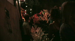 Rock Concert Dance Party Crowd 20 Stock Footage