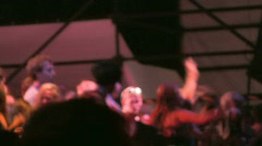 Rock Concert Dance Party Crowd 21 Stock Footage
