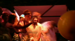 Rock Concert Dance Party Crowd 8 Stock Footage