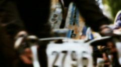 Bike race Stock Footage