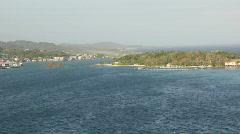 Roatan island Stock Footage