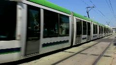 High-speed urban rail train Stock Footage