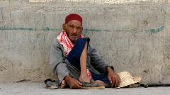 Beggar Stock Footage