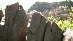 Awesome Views of Mountains  6 Stock Footage