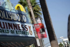 Guinness Records Sign 01 NTSC Stock Footage
