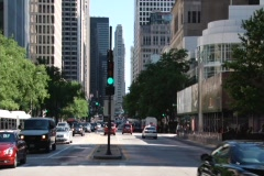 N Michigan Ave. Stock Footage