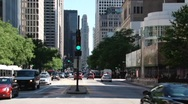 Stock Video Footage of N Michigan Ave.