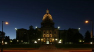 Colorado State Capitol Building Timelapse Stock Footage