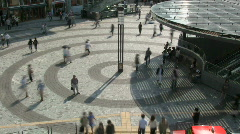 Stock Video Footage of Tokyo Pedestrian Time Lapse