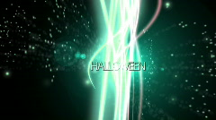 Halloween particle background - Spooky - Fantasy Stock Footage
