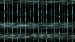 Metal mesh square grid network background,Big data&cloud storage,prison cage. Stock Footage