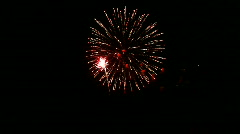 Jm1056-Fireworks Grand Finale Stock Footage