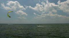 Kite Boarding  Stock Footage