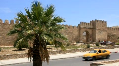 Medina. Old stronghold in Sousse, Tunisia - stock footage