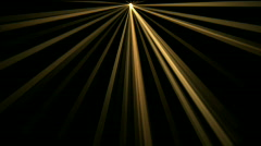 Ray Stage lighting radiation laser energy tunnel passage line background. Stock Footage