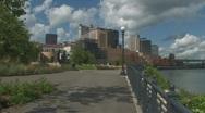 City Scene Stock Footage