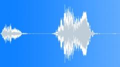 Komedia aivastus - mies aivastelu äänitteen Äänitehoste