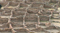 Anasazi Village Ruins-xws-pan - stock footage