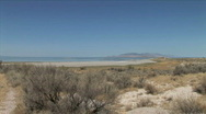 Stock Video Footage of Antelope Island Landscape-xws-zoom