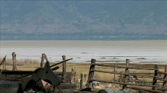 Antelope Island Ranch-zoom Stock Footage
