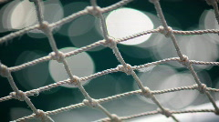 Net Shimmer Zoom In Out Stock Footage