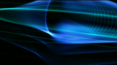 Abstract curve lines fantasy art background,universe space science fiction. Stock Footage