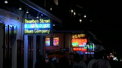 Bourbon Street Blues Company Stock Footage
