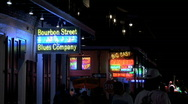 Stock Video Footage of Bourbon Street Blues Company