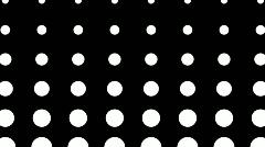 Moving Dots With Alpha Matte Stock Footage
