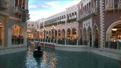 Canal in Venetian Stock Footage